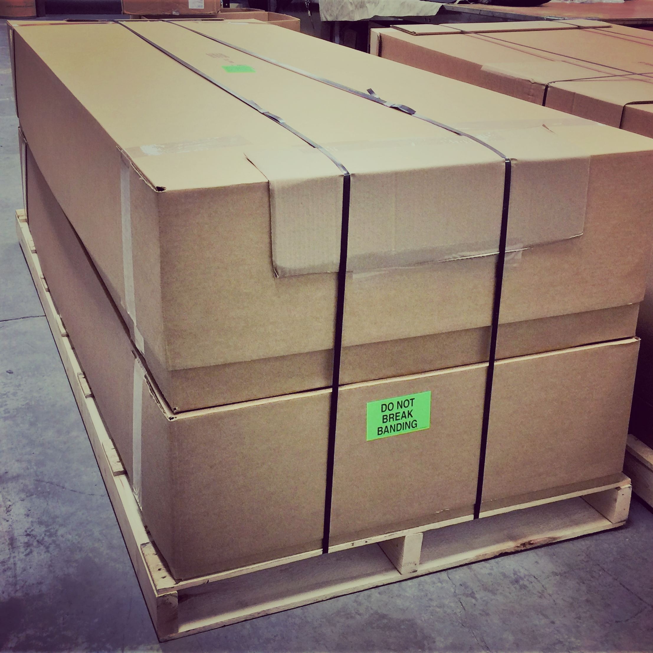 We, Boxes and Pallet